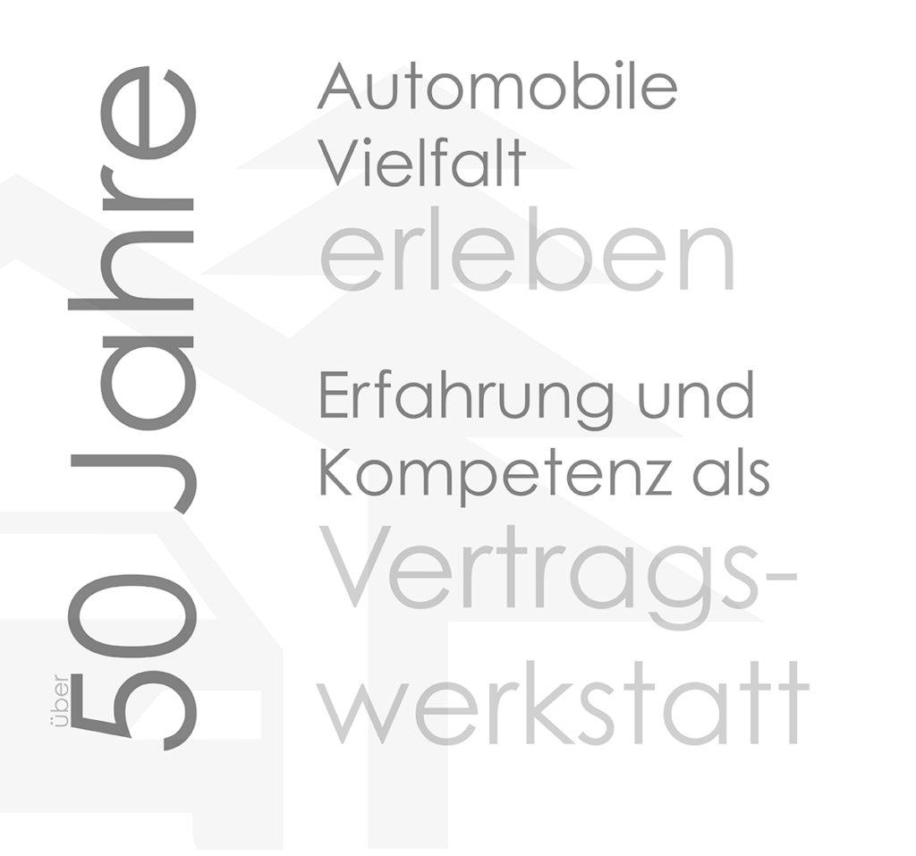 50 Jahre Autohaus Geuß