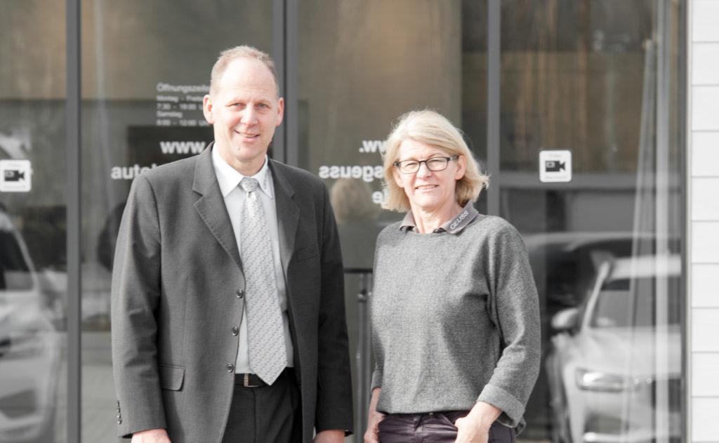 Firmenübergabe an Jürgen Geuß und Ulla Roscher- Geuß