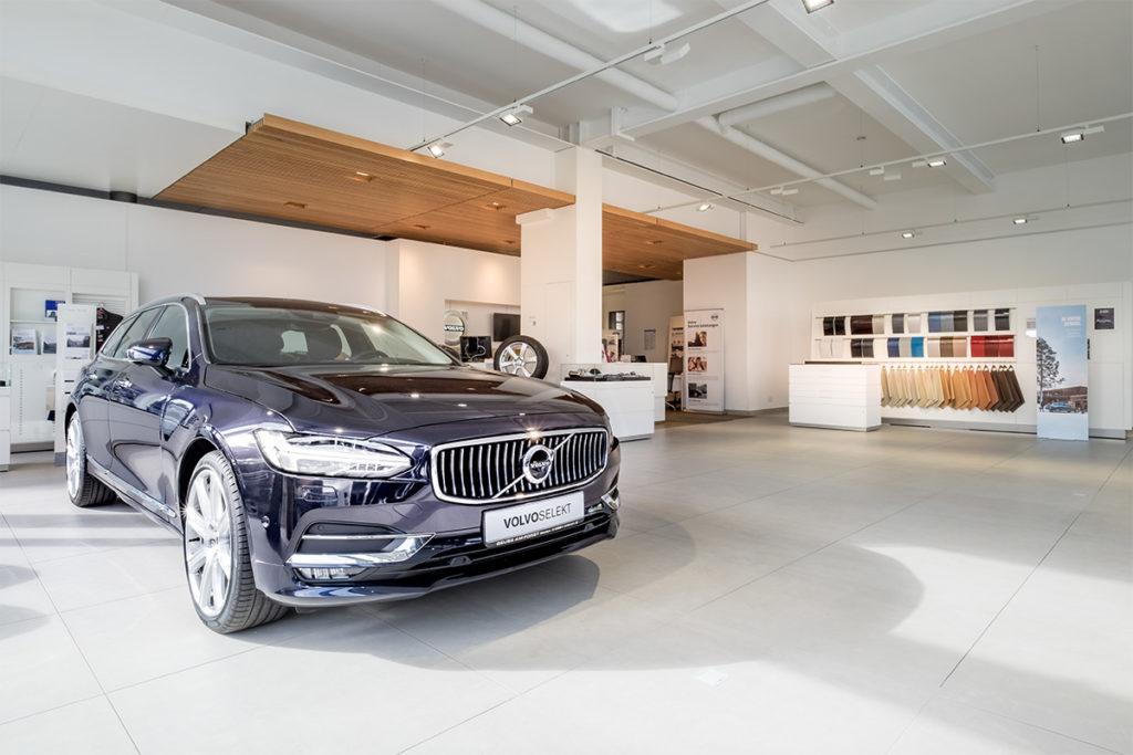 Umbau Volvo- Ausstellungsraum, Umbau Renault- Ausstellungsraum