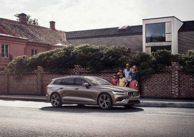 Der neue Volvo V60: Beschützt, was Ihnen wichtig ist