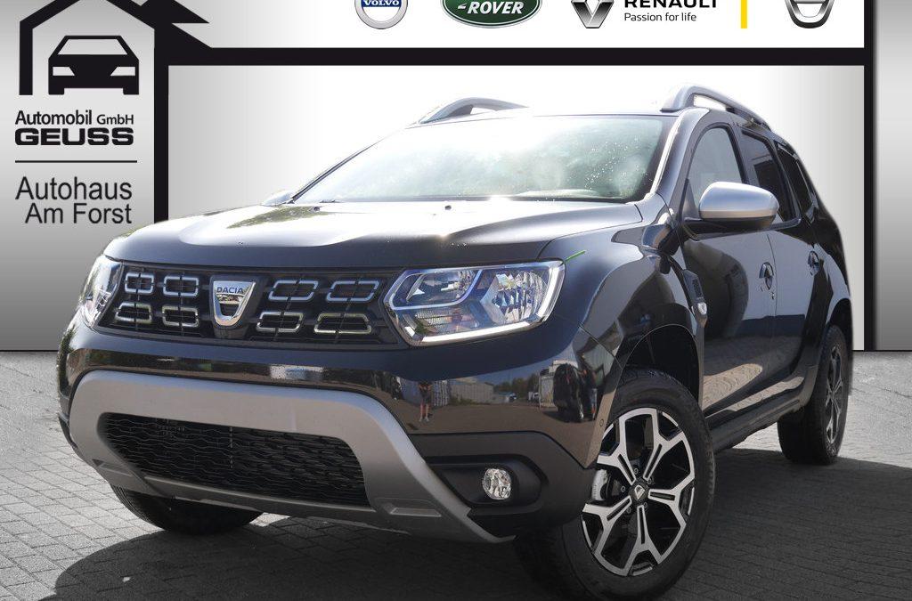 Sofort verfügbar: Dacia Duster Prestige TCe 125