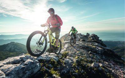 Mountainbike-Event im Autohaus Geuss